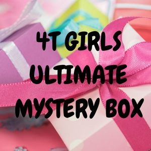 24 Items, 4T Girls Mystery Box, Play Clothes